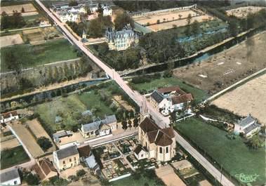 """/ CPSM FRANCE 45 """"Combreux, vue panoramique aérienne"""""""