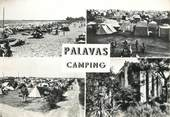 "34 Herault / CPSM FRANCE 34 ""Palavas Camping """