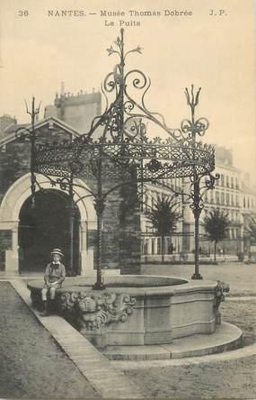 """/ CPA FRANCE 44 """"Nantes, musée Thomas Dobrée, le puits"""""""