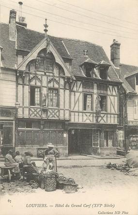"""/ CPA FRANCE 27 """"Louviers, hôtel du grand Cerf"""""""