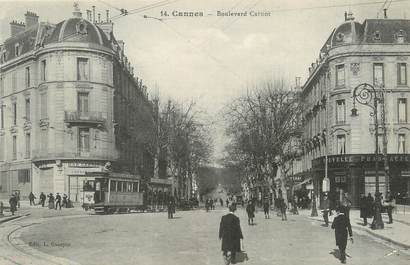 """/ CPA FRANCE 06 """"Cannes, bld Carnot"""""""