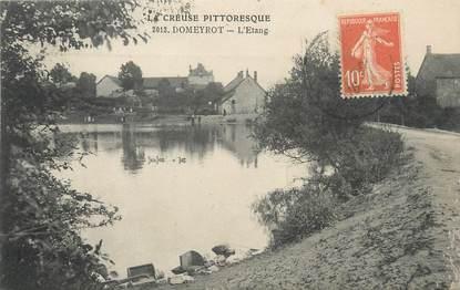"""/ CPA FRANCE 23 """"Domeyrot, l'étang"""""""