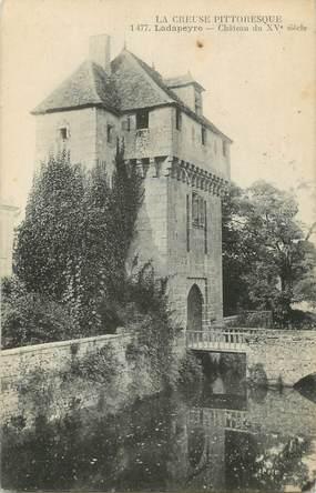 """/ CPA FRANCE 23 """"Lapadeyre, château du XVème siècle"""""""