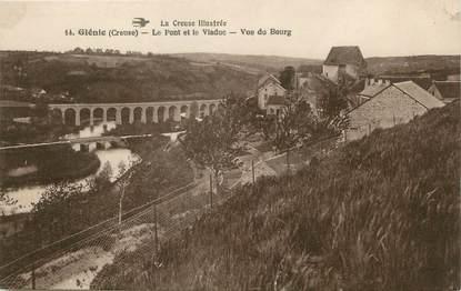 """/ CPA FRANCE 23 """"Glénic, le pont et le viaduc"""""""