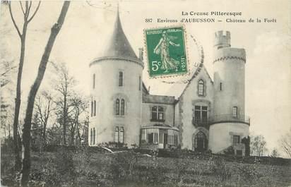 """/ CPA FRANCE 23 """"Environs d'Aubusson, château de la Forêt"""""""