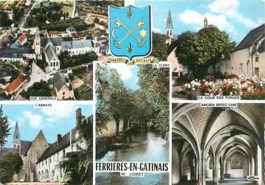 """/ CPSM FRANCE 45 """" Ferrières en Gatinais """""""