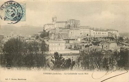 """CPA FRANCE 07 """"Viviers, la cathédrale vue du midi"""""""