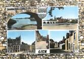 """45 Loiret / CPSM FRANCE 45 """"Gien, la Loire, vue générale"""""""