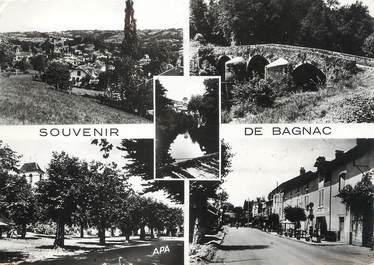 """/ CPSM FRANCE 46 """"Souvenir de Bagnac """""""