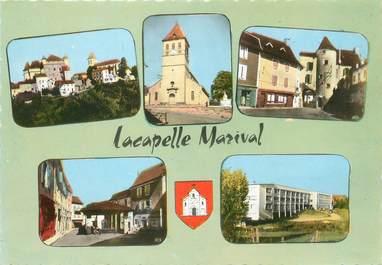 """/ CPSM FRANCE 46 """"Lacapelle Marival, le château"""""""