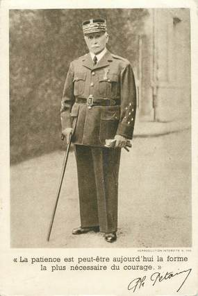 CPSM PETAIN