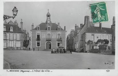 """/ CPSM FRANCE 53 """"Mayenne, l'hôtel de ville"""""""