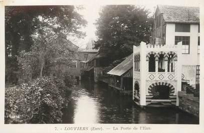 """/ CPSM FRANCE 27 """"Louviers, la porte de l'eau"""""""