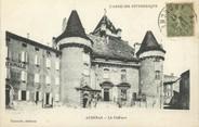 """07 Ardeche / CPA FRANCE 07 """"Aubenas, le château"""""""