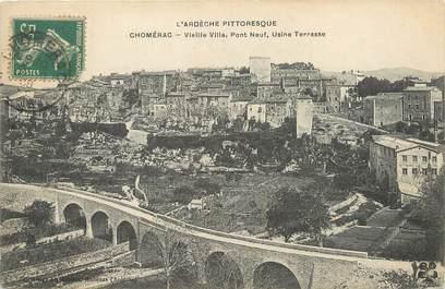 """/ CPA FRANCE 07 """"Chomérac, vieille ville"""""""