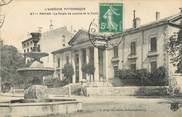 """07 Ardeche / CPA FRANCE 07 """"Privas, le palais de justice et la fontaine"""""""