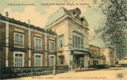"""/ CPA FRANCE 07 """"Vals Les Bains, le casino"""""""