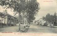"81 Tarn / CPA FRANCE 81 ""Castres, place de l'Albinque, gare des tramways"""