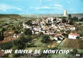 """46 Lot / CPSM FRANCE 46 """"Un baiser de Montcuq"""""""