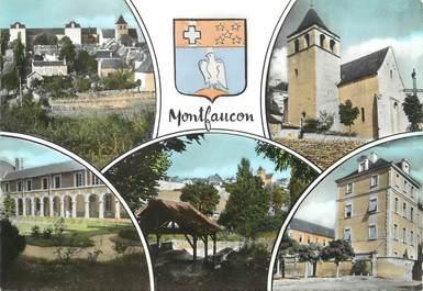 """/ CPSM FRANCE 46 """"Montfaucon, vue générale côté sud"""""""