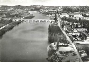 """/ CPSM FRANCE 47 """"Agen, le pont de Pierre"""""""