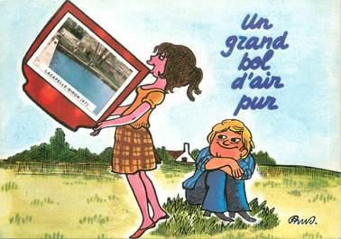 """/ CPSM FRANCE 47 """"Lacapelle Biron """""""