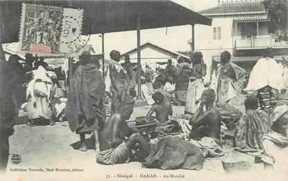 CPA SENEGAL / Dakar, Au marché