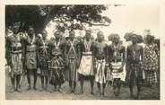 """Afrique CPSM SENEGAL """"Groupe de lutteurs"""""""