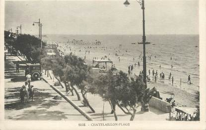 """/ CPA FRANCE 17 """" Chatelaillon plage """""""