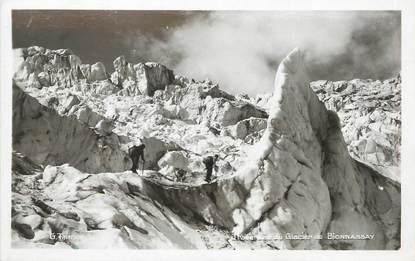"""/ CPSM FRANCE 74 """"Traversée du glacier de Bionnassay"""""""