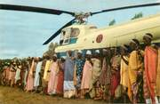 Afrique CPSM  CONGO BELGE / HELICOPTERE