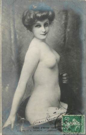 """/ CPA NU / SALON D'HIVER 1912 nr 5724 Dt """"A. Penot, jeunesse"""""""