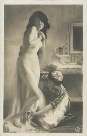 """/ CPA NU / SALON 1907 nr 281 """"A. Roberty, baigneuse"""""""