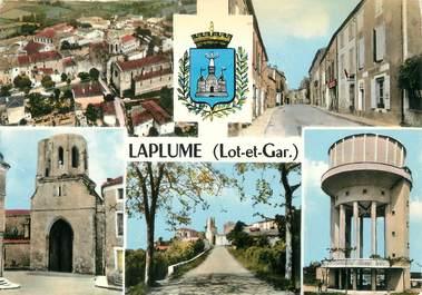 "/ CPSM FRANCE 47 ""Laplume"""
