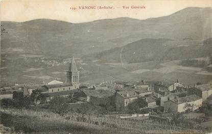 """CPA FRANCE 07 """"Vanosc, vue générale"""""""