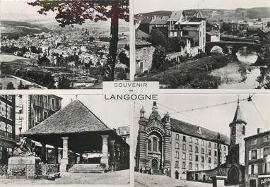 """/ CPSM FRANCE 48 """"Souvenir de Langogne """""""