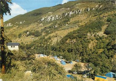 """/ CPSM FRANCE 48 """"Sainte Enimie"""" / CAMPING"""