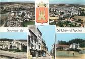"""48 Lozere / CPSM FRANCE 48 """"Souvenir de Saint Chély d'Apcher """""""
