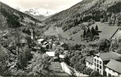 """/ CPSM FRANCE 38 """"Pinsot, vue générale et le massif des Sept Laux"""""""