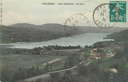 """/ CPA FRANCE 38 """"Paladru, vue générale, le lac"""""""