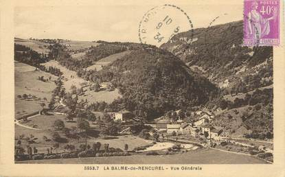 """/ CPA FRANCE 38 """"La Balme de Rencurel, vue générale"""""""