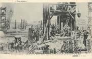 """21 Cote D'or / CPA FRANCE 21 """"Le siège d'Alesia, tableau de M. Henri Motte, Semur"""" / ARCHEOLOGIE"""