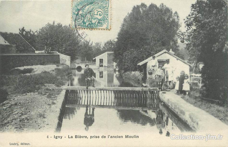 Igny France  City pictures : CPA FRANCE 91