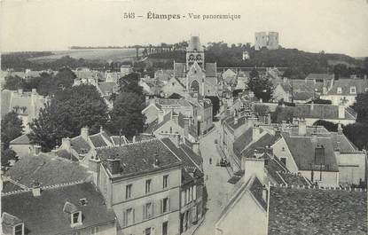 "/ CPA FRANCE 91 "" Etampes, vue panoramique"""