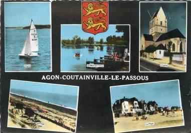 """/ CPSM FRANCE 50 """"Agon Coutainville, Le Passous"""""""