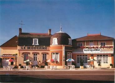 """/ CPSM FRANCE 50 """"Barfleur, restaurant hôtel le moderne"""""""