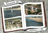 """50 Manche / CPSM FRANCE 50 """"Souvenir de Barneville sur Mer"""""""