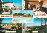 """50 Manche / CPSM FRANCE 50 """"Barneville, hôtel restaurant Les Iles"""""""
