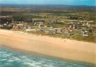 """/ CPSM FRANCE 50 """"Denneville, les villas et la plage"""""""