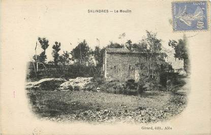 """CPA FRANCE 30 """"Salindres, le Moulin"""""""